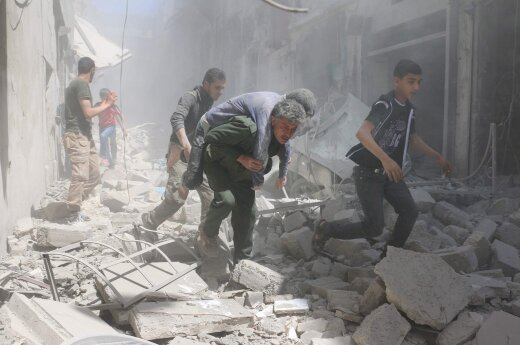 В результате авиаудара в Алеппо повреждены две больницы