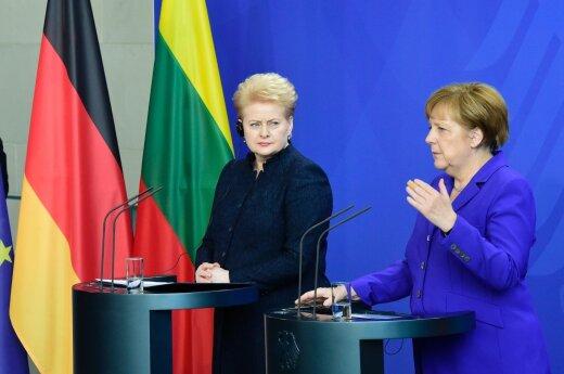 Naujas Vokietijos flirtas su Rusija Lietuvai turės skaudžią kainą