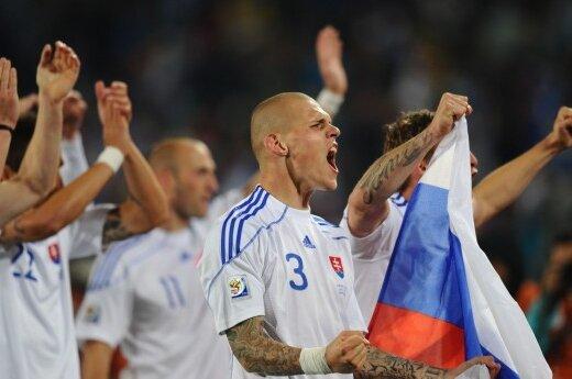 Slovakijos futbolininkai