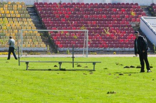 Провалился конкурс на строительство футбольного стадиона в Вильнюсе