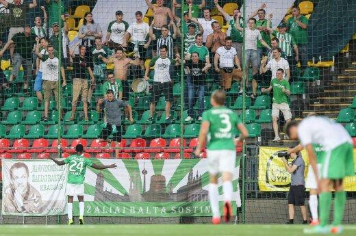 """Futbolas. Vilniaus """"Žalgiris"""" - Kauno """"Spyris"""""""