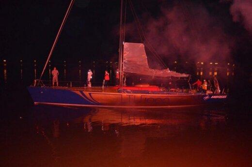 Jachta Ambersail grįžo į Klaipėdą