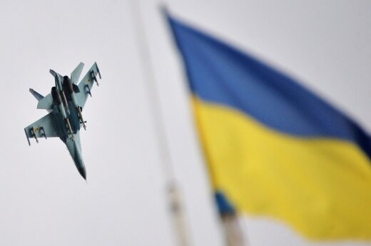 Ukrainian fighter jet