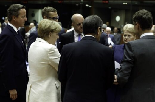 Angela Merkel, David Cameron, Dalia Grybauskaitė