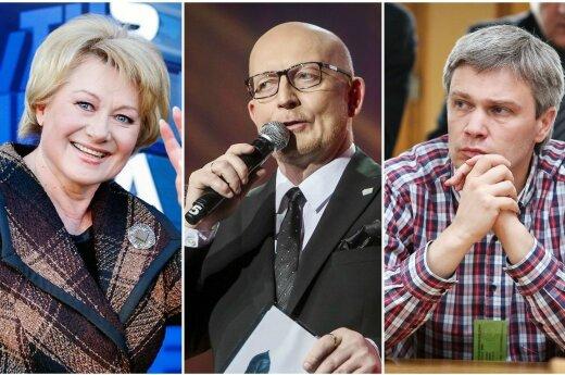 R. Jokubauskaitė, A. Valinskas, R. Paleckis
