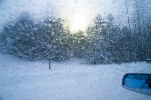 Во второй половине недели в Литву придет зима