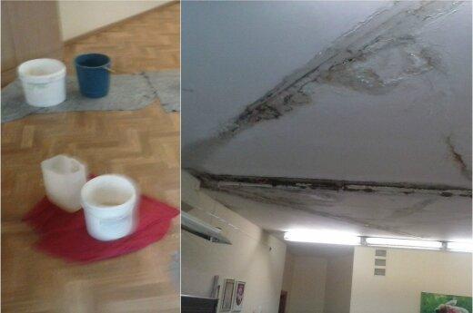 Situacija Vilniaus Fabijoniškių mokykloje