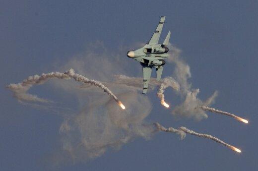 ВИДЕО: Российская авиация уничтожила бункер ИГ со взрывчаткой и боеприпасами