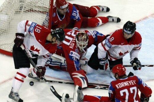 Rusijos ir Kanados ledo ritulio rinktinių mačas