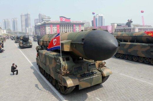 Rusija ir JAV susikivirčijo net dėl Šiaurės Korėją smerkiančio JT pareiškimo spaudai