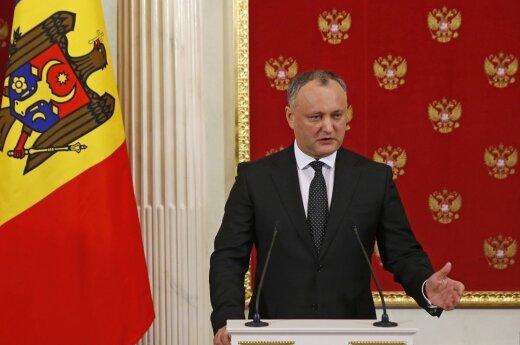 Президент Молдовы назвал неприемлемым вступление страны в НАТО
