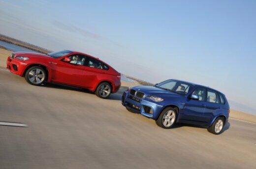 BMW X6 M ir BMW X5 M