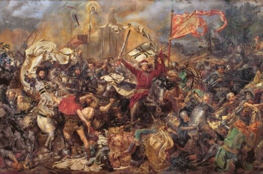 The Battle of Grunwald as imagined by 19-century Polish painter Jan Matejko