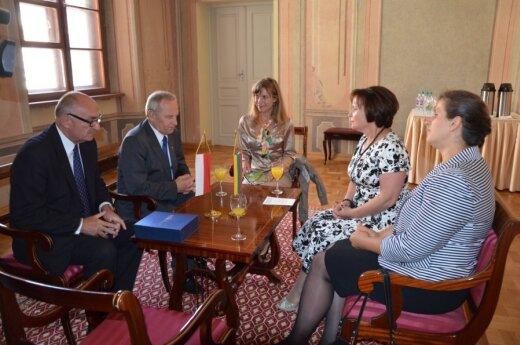 R.Juknevičienė susitiko su Lenkijos nacionalinio saugumo biuro vadovu S.Koziejumi.