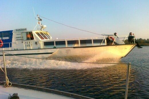 Планируется оживить водный туризм на Куршской косе