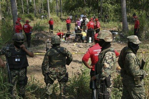 Meksikoje rasti dingusių turistų kūnai