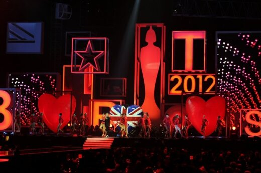 BRIT Awards 2012 akimirka