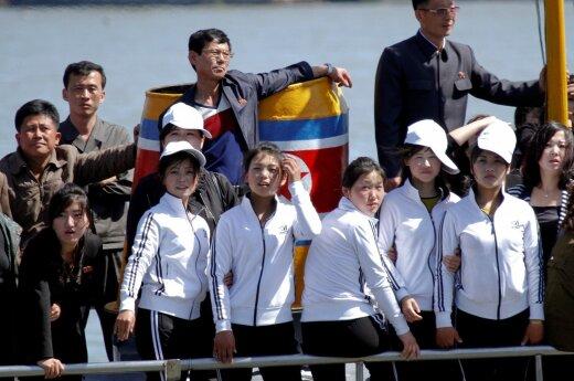 Tarp Rusijos ir Šiaurės Korėjos pradėjo kursuoti pirmasis keleivinis keltas