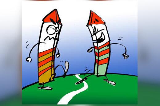 Siena, pasienis - karikatūra
