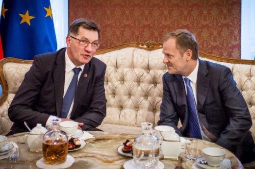 Algirdas Butkevičius, Donald Tusk