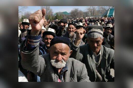 Kirgizijoje - opozicijos protestai