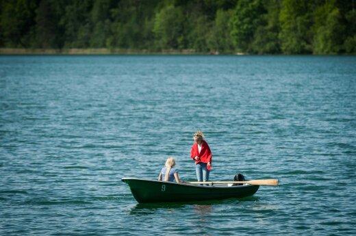 Praneša, kur Lietuvoje maudytis nesaugu