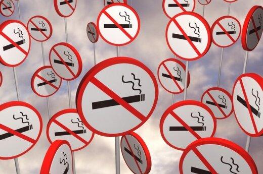 В Мариямполе хотят увеличить число зон для некурящих