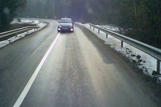 Nepasirinktas saugus greitis