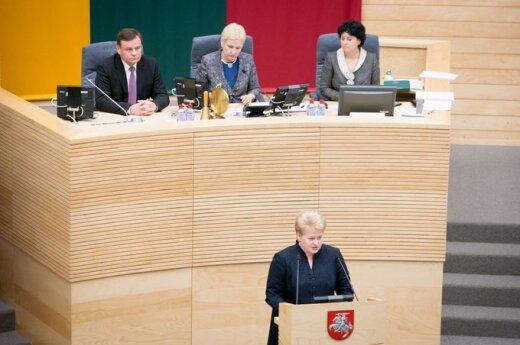 Grybauskaitė: Wybór socjaldemokratów będzie decydujący