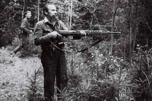 A Lithuanian partisan