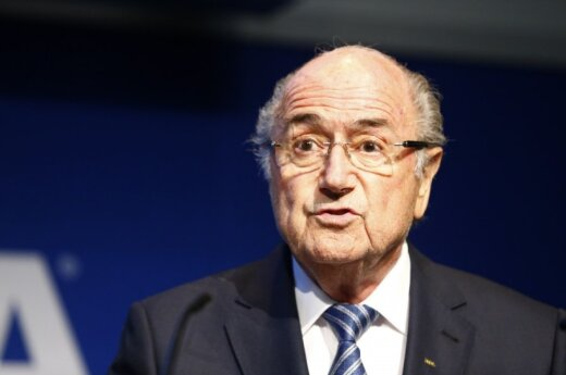 FIFA prezidentas Seppas Blatteris