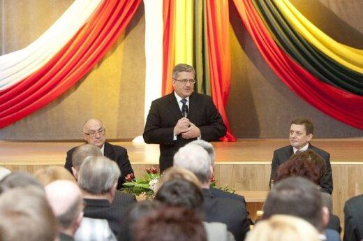 Komorowski złoży wizytę na Litwie 16 lutego