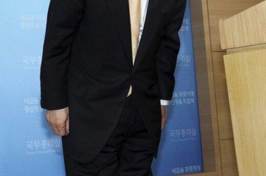 Atsistatydino Pietų Korėjos ministras pirmininkas Chung Un-Chanas