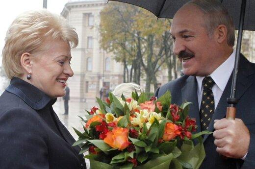 Dalia Grybauskaitė ir Aleksandras Lukašenka