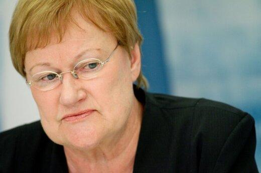 Suomijos prezidentė Tarja Halonen