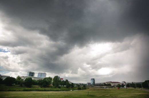 Rain and thunderstorms to continue in Lithuania with higher temperatures