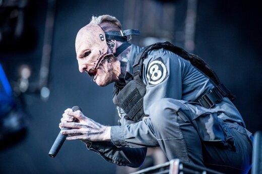"""Slipknot"" vokalistas Corey Tayloras"