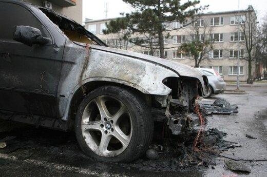 Sudegęs automobilis