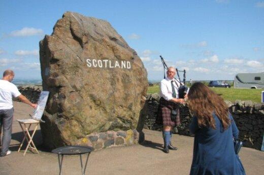 Ir kas važiuoja į tą Škotiją...: kelionės įspūdžiai