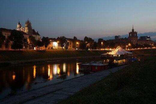 Neris riverbank