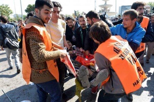 Lithuanian leaders condemn terrorist attacks in Ankara