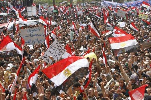 Protestai Kaire