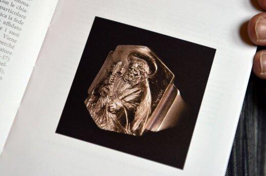 Popiežiaus Pranciškaus Žvejo žiedas