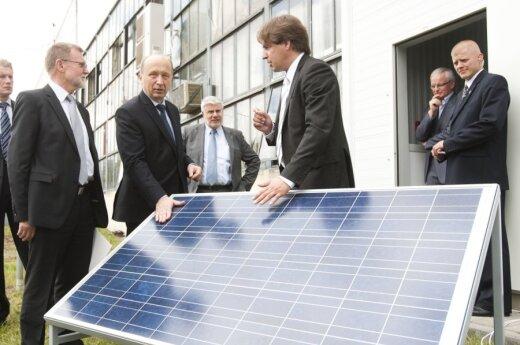 В Литве открыта первая линия по сборке солнечных модулей