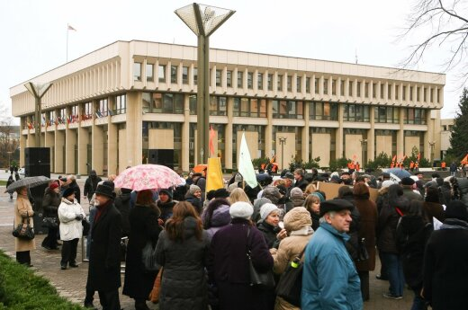 Lithuania's labour unions to hold rally in Vilnius in protest of labour code reform