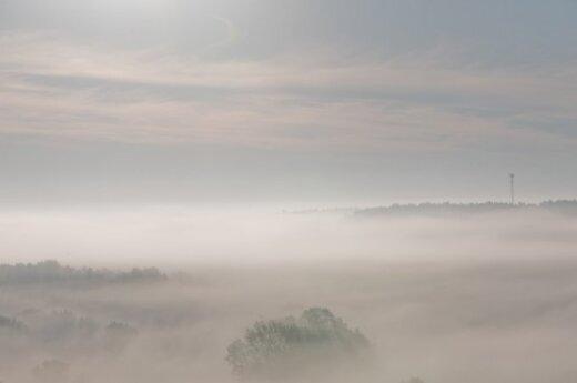 Ночью движение на дорогах осложнит туман и гололедица
