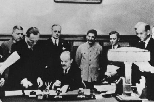 Signing of the Molotov-Ribbentrop Pact