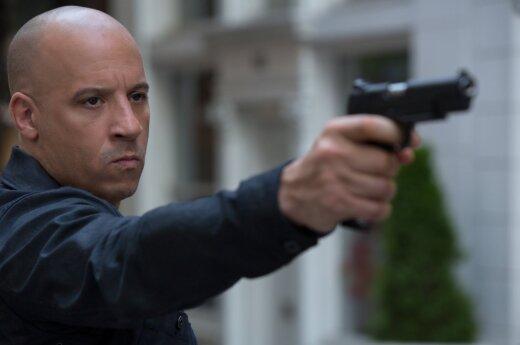"""Vin Diesel, kadras iš filmo """"Greiti ir įsiutę 8"""""""