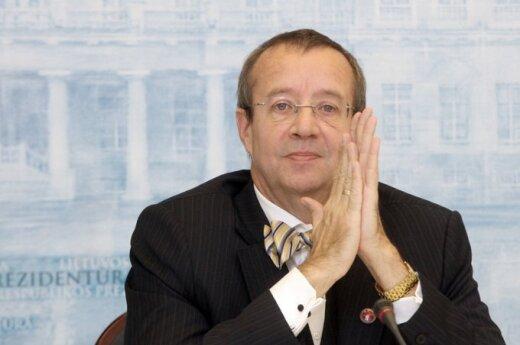 Prezydent Estonii: Chcemy Litwę i Łotwę widzieć w strefie euro