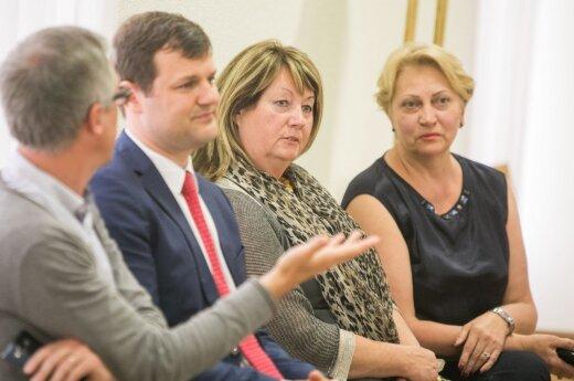 Gintautas Paluckas, Vilija Blinkevičiūtė, Rasa Budbergytė